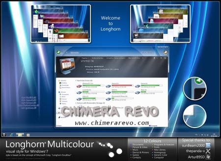 Longhorn Multicolour w7