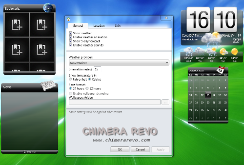 gadget htc sense windows