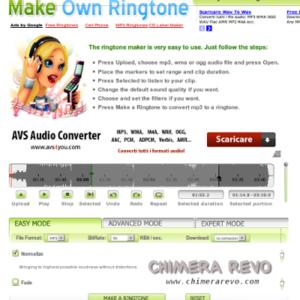 make own ringtone