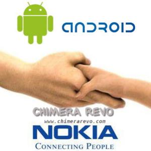 nokia e android