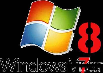 windows 8 crazy logo