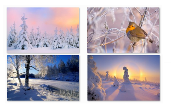 winter theme seven