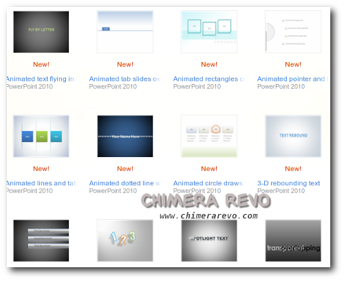165 template powerpoint 2010
