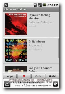 how to add album art to android phone