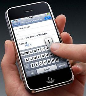 iphone tastiera