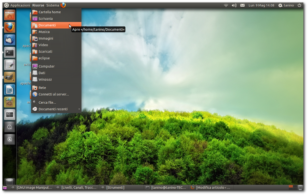 how to change from unity to gnome