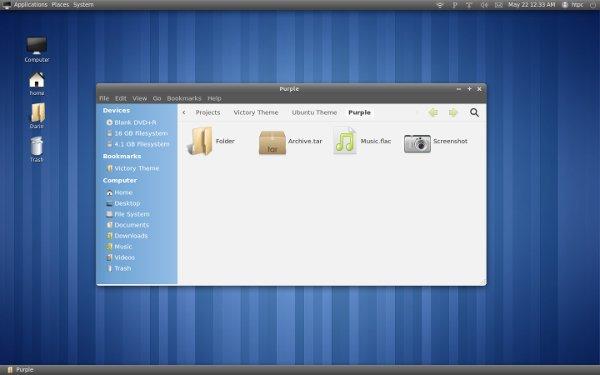 victory-theme for ubuntu