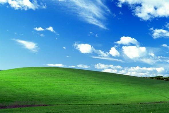 windows xp sfondo