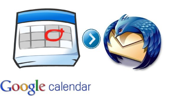 how to add google calender to thundrbird