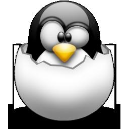 linux tux uovo logo