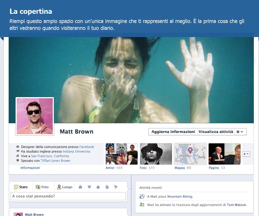 Molto La raccolta delle timeline di Facebook più belle e creative  TO57