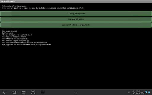 Android: come collegarsi ad una rete Wifi ad hoc grazie a ...