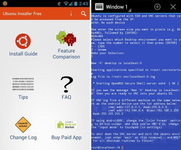 ubuntu installer: