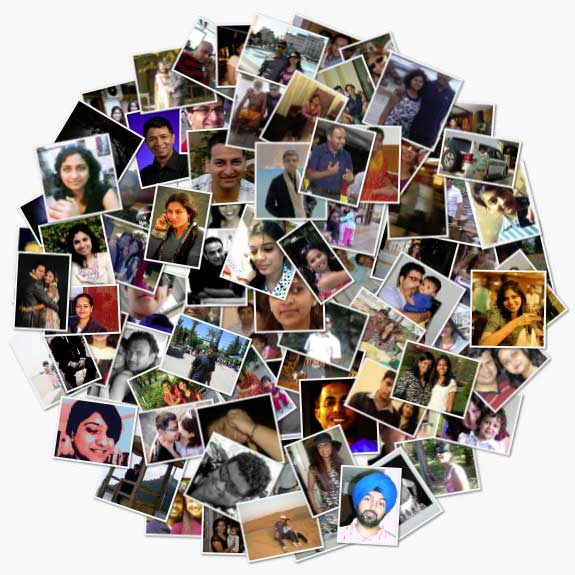 collage facebook foto