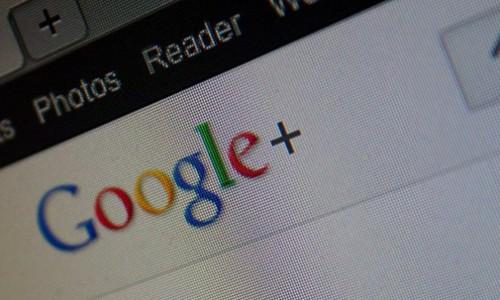 google plus large