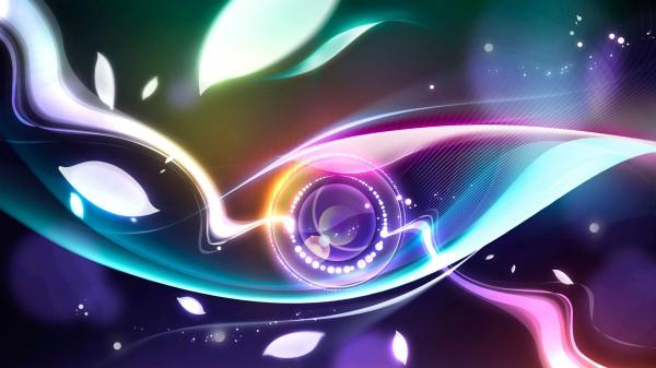 6111 digital abstract eye wallpapers