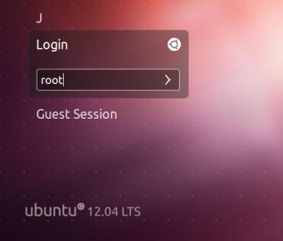 login root