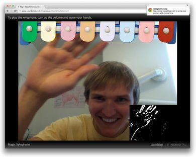 chrome 21 beta webcam