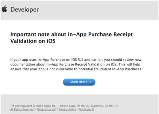 iOS in app buy