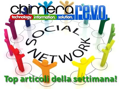 social network settimana 2