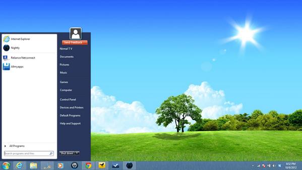 windows 10 non funziona menu start