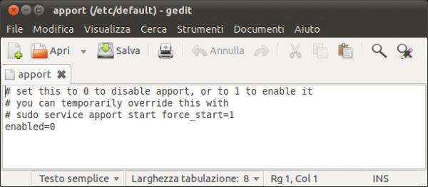 apport file