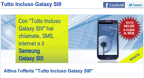 Offerte tim business con smartphone