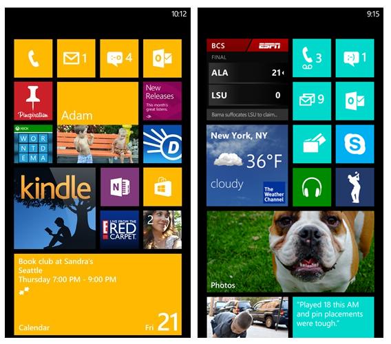Un aggiornamento su Windows Phone 7 8