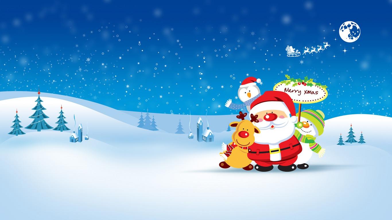 Sfondi Natalizi Per Email.55 Stupendi Sfondi Di Natale Per Il Proprio Pc Chimerarevo