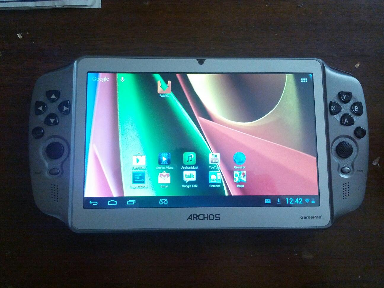 Archos Gamepad foto1