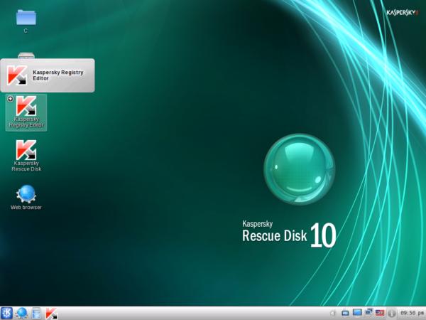 Kaspersky-rescue-disk-desktop
