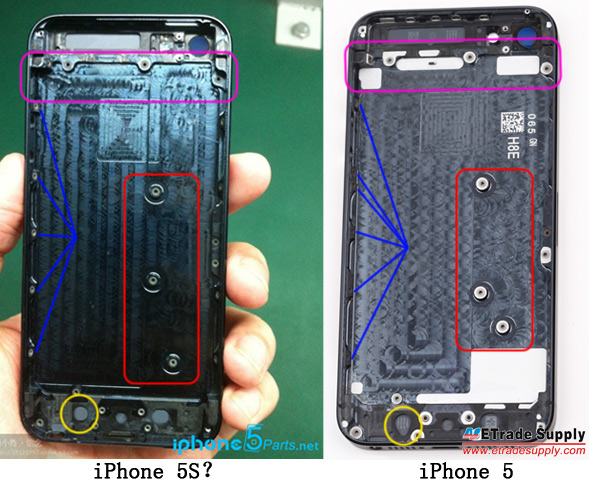 rumor iphone 5s rear 2