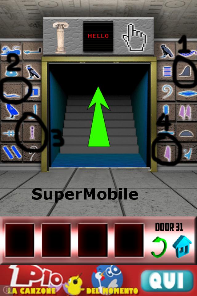 100 Doors soluzione livello 32
