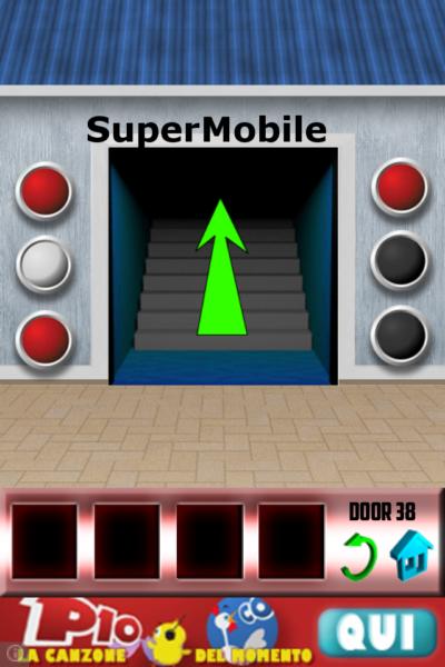 100 Doors soluzione livello 39