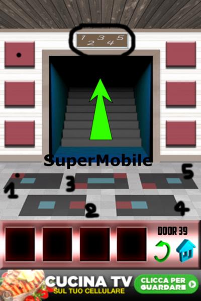 100 Doors soluzione livello 40