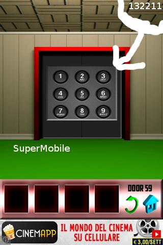 100 Doors soluzione livello 60