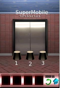 100 Doors soluzione livello 66
