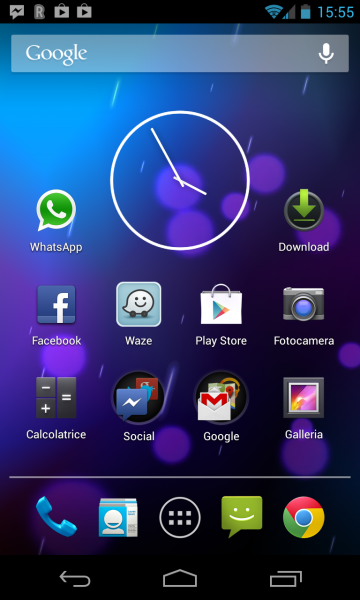 Launcher Android 4.2.1 Jelly Bean