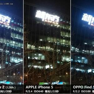Sony Xperia Z vs iPhone 5 vs Oppo Fond 5 immagine5