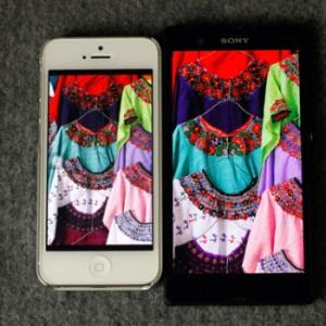 Sony Xperia Z vs iPhone 5 vs Oppo Fond 5 immagine8