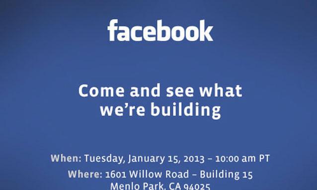 evento facebook 15 gennaio