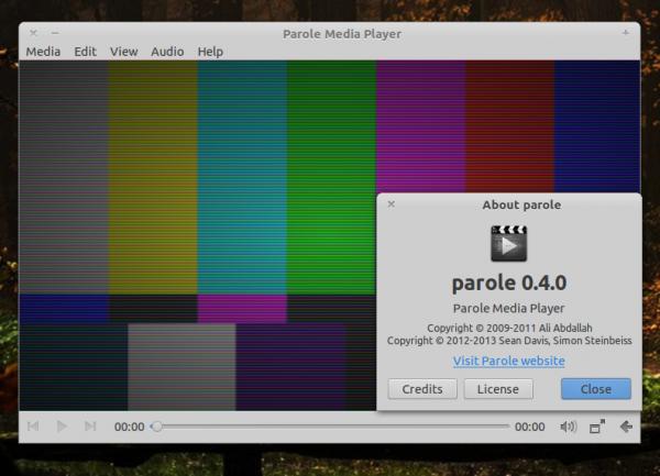 parole media player
