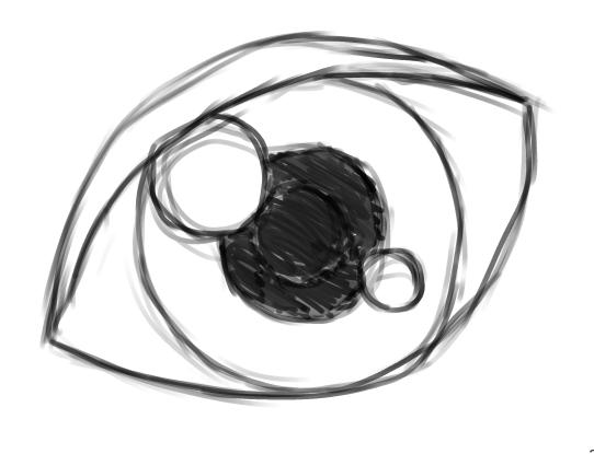 Famoso Gimp Tutorial: creare un occhio manga con la tavoletta grafica  KG36