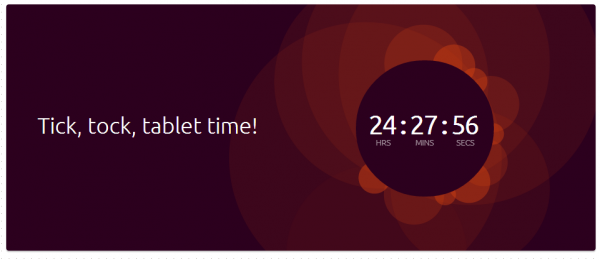 ubuntu tablet countdown