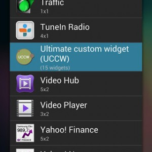 ultimate custom widget