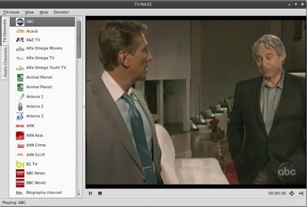 tv-maxe sopcast ubuntu