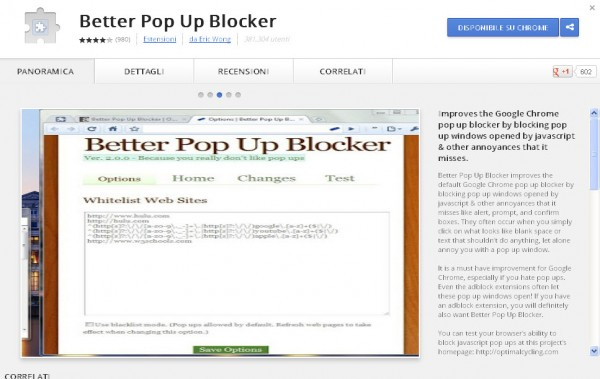 pop up blocker google chrome free