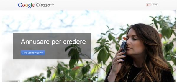 Google Olezzo BETA