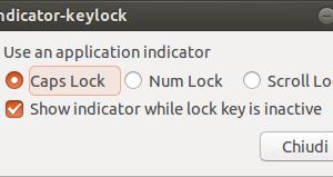 indicator keylock