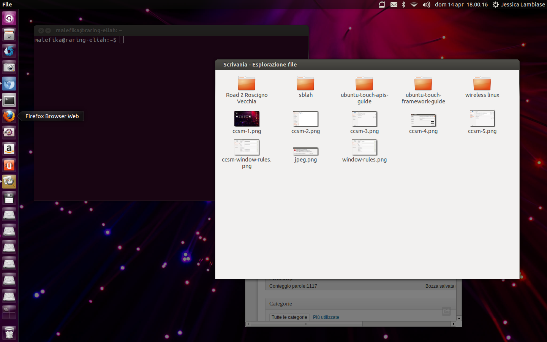 Ubuntu 1304 Impostare Uno Sfondo Differente Per Ogni Workspace